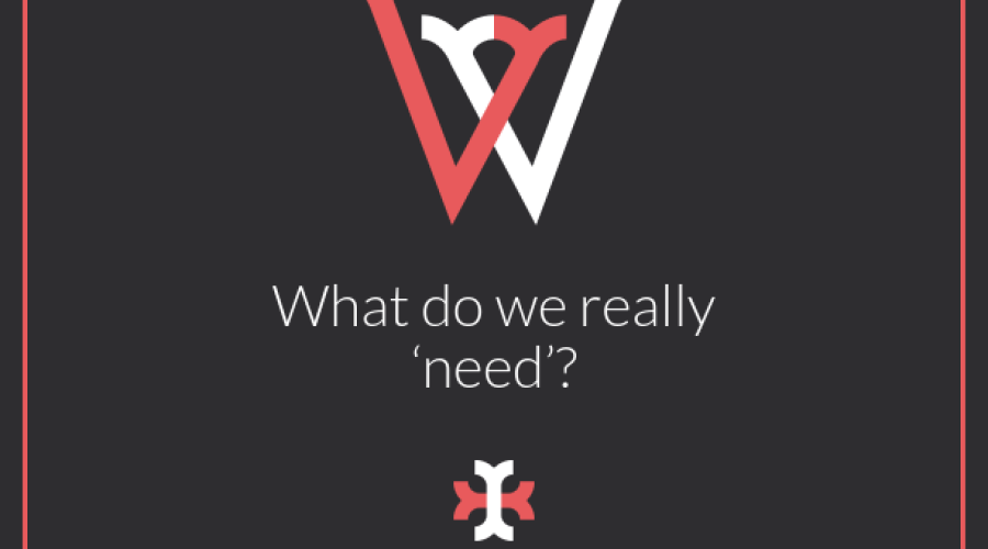 What do we really 'need'?