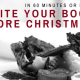 In 60 Minutes or Less – Write your book before Christmas
