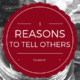 Three reasons to tell others to jam it