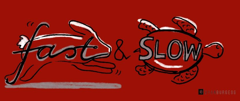 How to write fast and slow