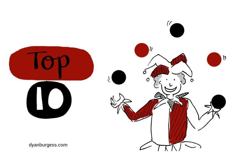Dyan Burgess Top 10 Tips for Juggling