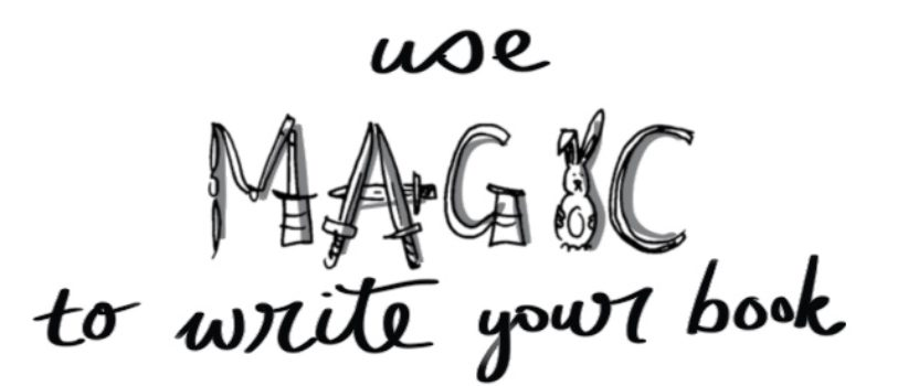 Use magic to write your book